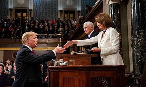 Trump Tells Pelosi In Blistering Letter That Dems Are 'Declaring Open War On American Democracy'
