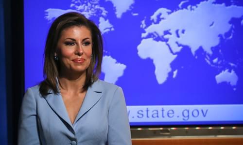 State Department Spox Fact-Checks CNN Anchor on Iran