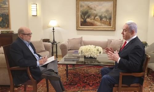 Benjamin Netanyahu Calls Benny Gantz's Public Support Of Trump's Mideast Peace Plan 'One Big Con Job'