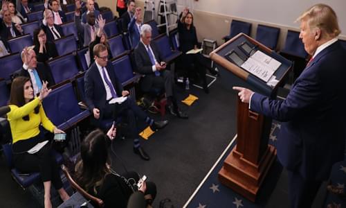 Donald Trump: American 'Corrupt Media' Media Siding with China