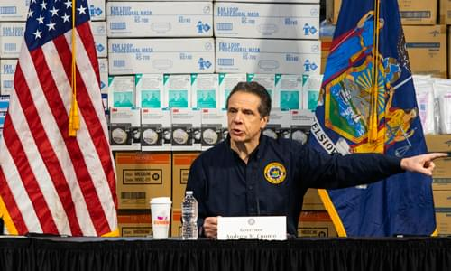 Caller Elaine Exposes Cuomo From March 26