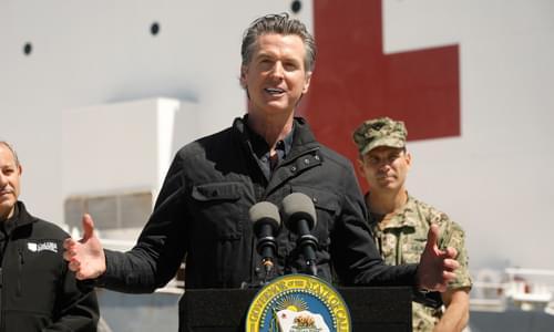California Governor: Virus Is Opportunity for Progressives