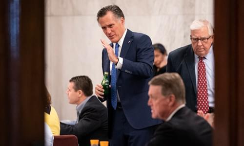 Mitt Romney cluelessly exaggerates coronavirus fatality rates