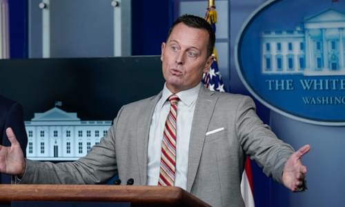 Ric Grenell Goes To Town On Idiot Reporters