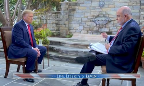 Trump Warns US Could Become Venezuela On Steroids, Tells Mark Levin: Biden 'Doesn't Know He's Alive'