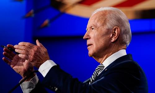 Joe Biden in September: I will Not Declare Victory Until the Election Is Independently Certified