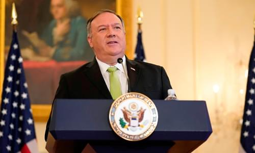 Pompeo: Russians Are 'Pretty Clearly' Behind Hack Of US Government