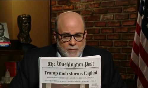 Levin: Media 'Exploiting' Capitol Riot To 'Silence Conservatives' As Democrats Work To 'Choke The System'