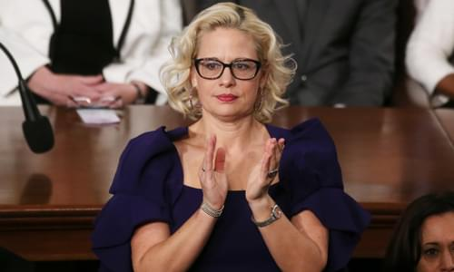 Kyrsten Sinema Won't Support Eliminating Filibuster, 'Not Open To Changing Her Mind'