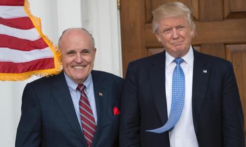 A Frivolous, PR Stunt – Dem Congressman Sues Trump, Giuliani Over Capitol Riot