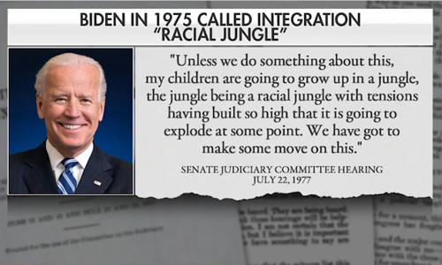 Biden Is The Most Racist President in the Oval Office Since Woodrow Wilson