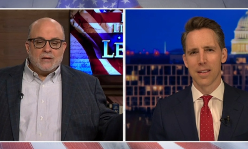 Hawley: Left wants to 'combine the power of government and the power of' Big Tech corporations