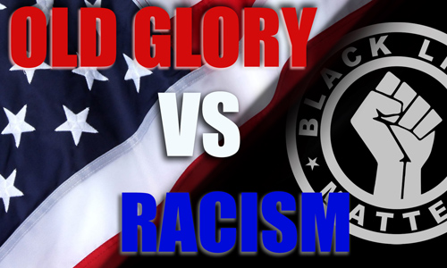 Old Glory vs Racism