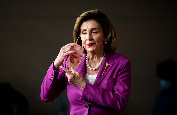 Pelosi Babbles Incoherently, Answering Question With Mantra Like A Loon, And Media Fine With It