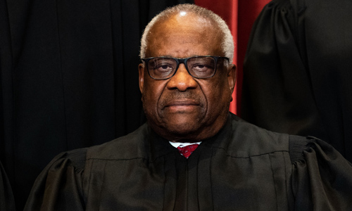 Justice Thomas Mocks Media For Saying His Votes Are Based On Personal Preferences