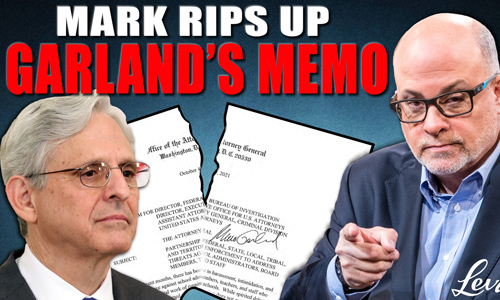 Levin Rips Up Garland's Memo