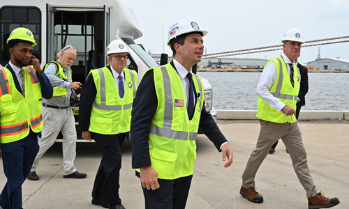 Transportation Sec. Pete Buttigieg Has Been 'MIA' During Supply Chain Crisis — Because He Has Been On Paternity Leave For 2 Months