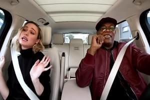 "[VIDEO] Samuel L. Jackson & Brie Larson Sing Ariana Grande's ""7 Rings"""