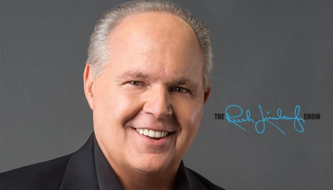 Rush Shares His Cancer Diagnosis