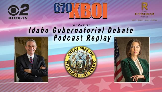 Idaho Gubernatorial Debate Audio