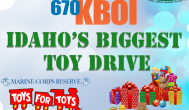 670 KBOI is hosting Idaho's biggest toy drive NOW thru Sunday