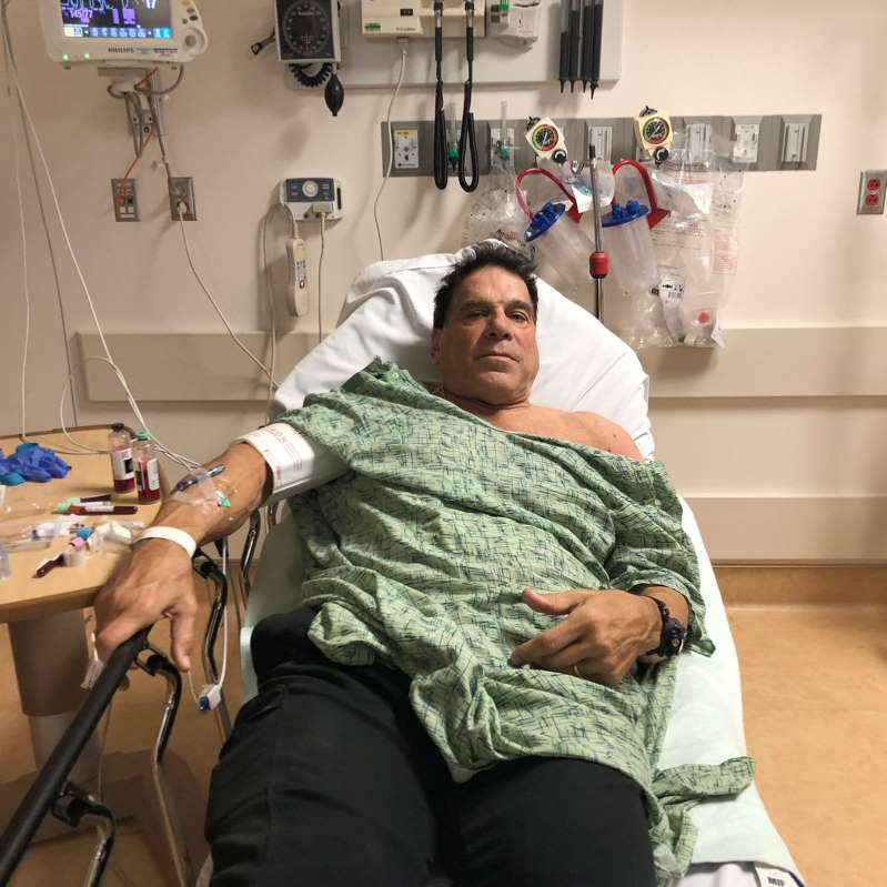 Rick's Blog: Lou Ferrigno, of Incredible Hulk fame, hospitalized after pneumonia vaccination shot bad reaction.