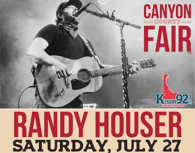KISSIN 92.3 Presents: Randy Houser @ the 2019 Canyon County Fair!
