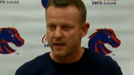 """HEAR IT NOW:  Coach Harsin rips """"Twitiots"""" during Monday Presser"""
