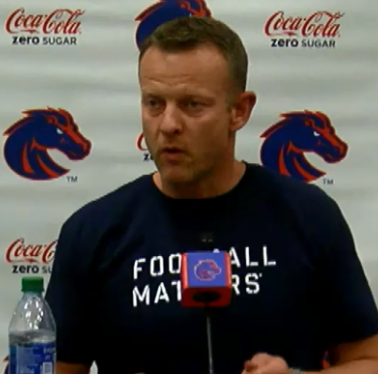 "BLOG: Coach Harsin and ""Twitiots"""