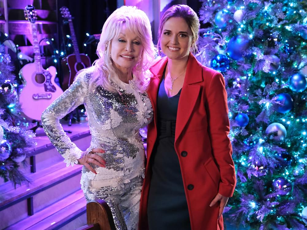 "Dolly Parton's New Hallmark Movie, ""Christmas at Dollywood,"" to Air Throughout December [Full Schedule]"