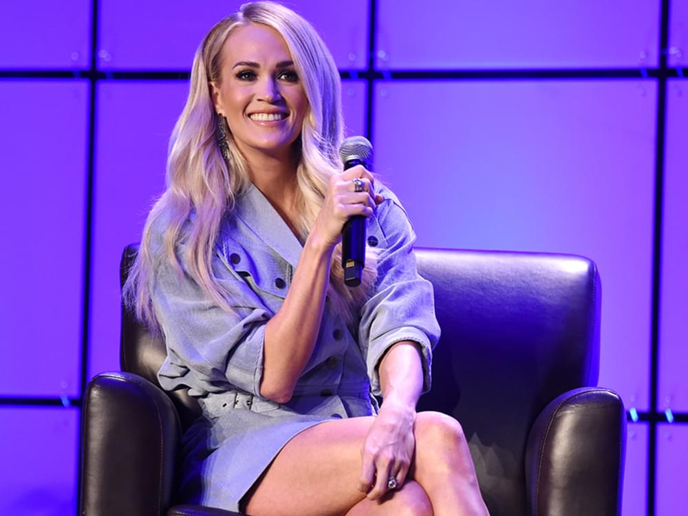 Carrie Underwood Launches New Fitness App, fit52
