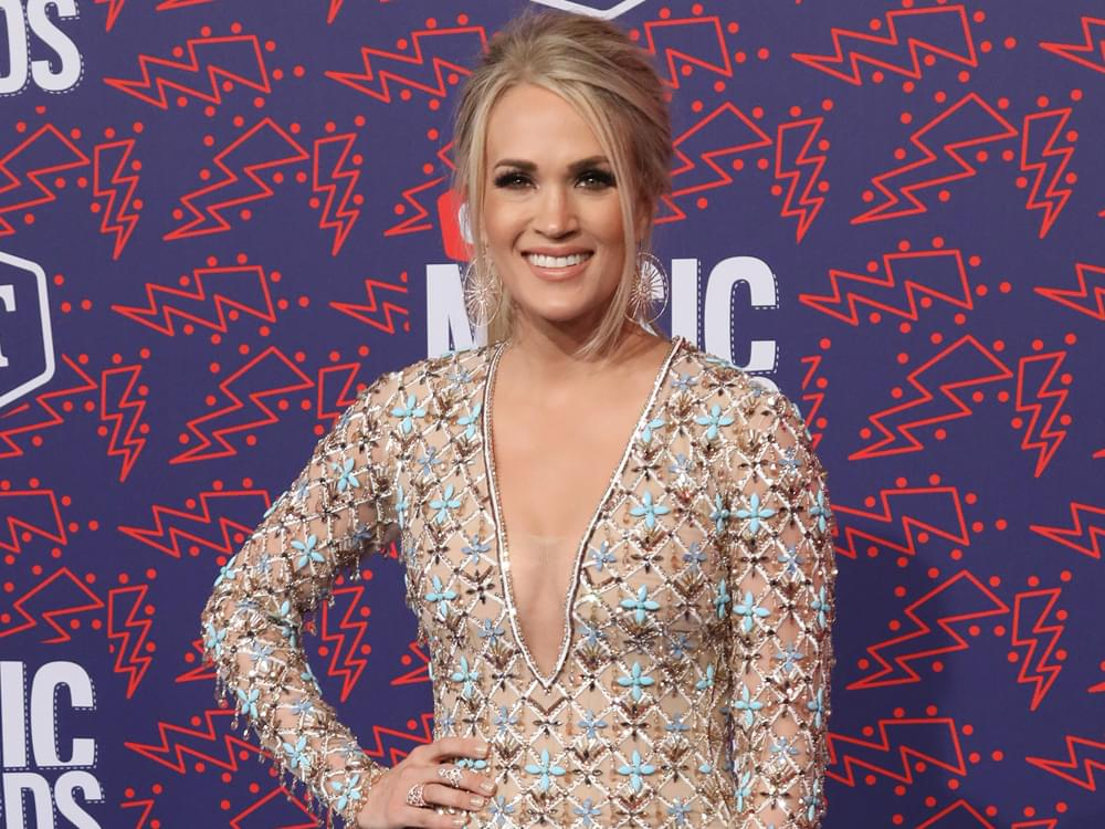 "Carrie Underwood's New Book Debuts at No. 2 on ""New York Times"" Best Seller List in ""Advice"" Category"