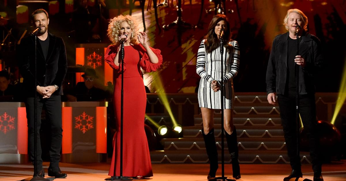 "Watch Little Big Town Perform ""Christmas Time Is Here"" at ""CMA Country Christmas"""