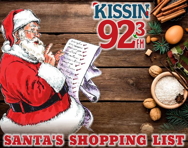 Santa's Shopping list