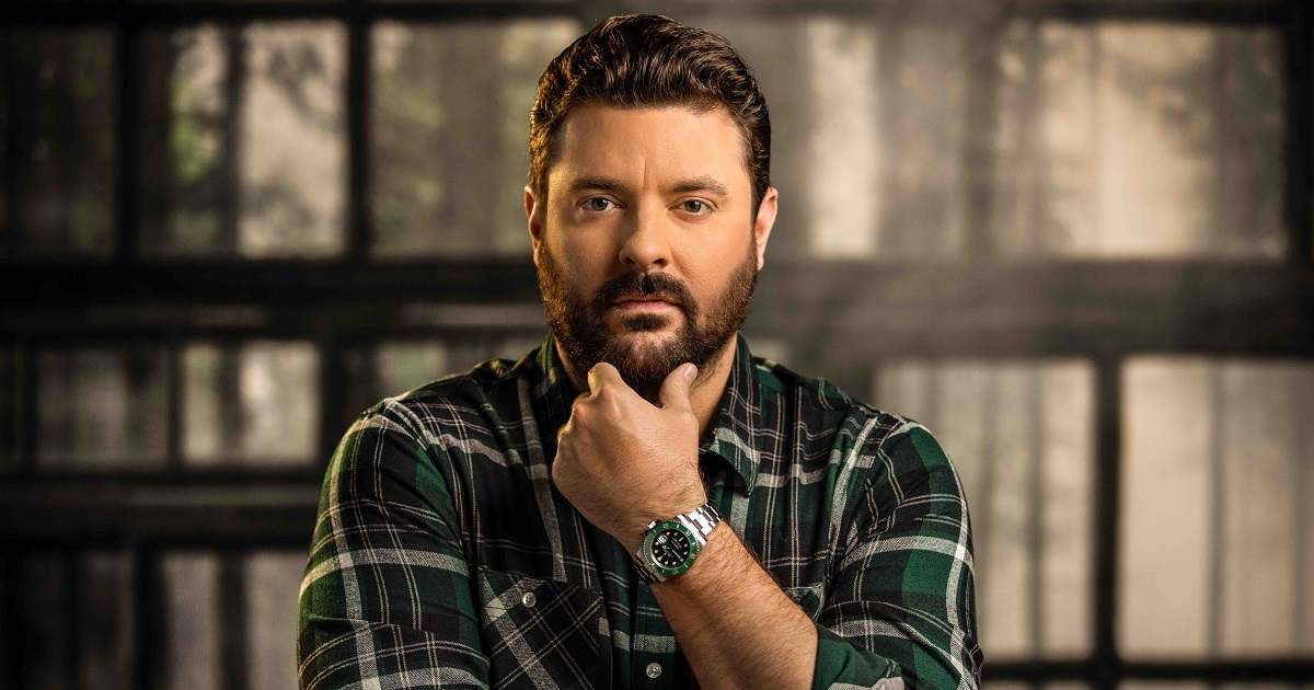 Chris Young Owns One Of Keith Whitley's Guitars – and He Geeked Out About It