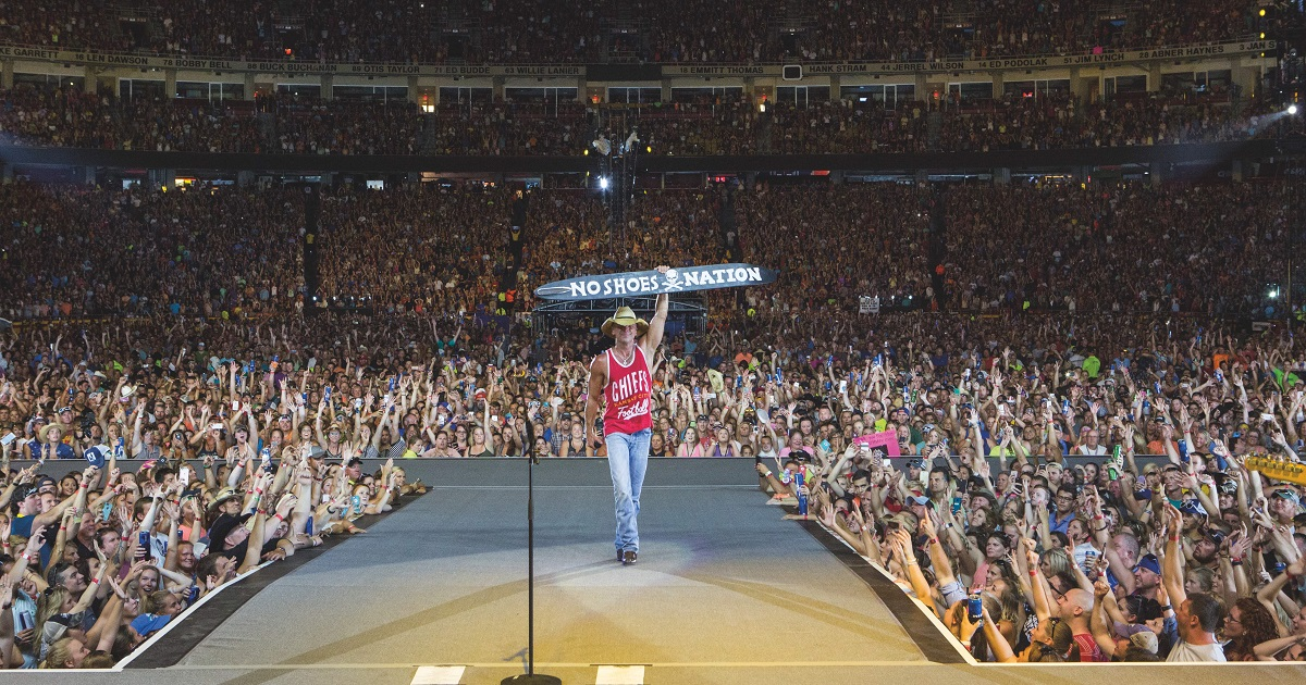 Kenny Chesney Can't Wait To Be Here and Now in 2022