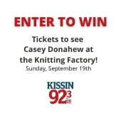 Enter to win Casey Donahew Tickets