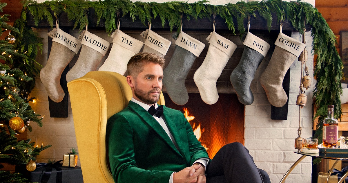 Brett Young Wishes You A Merry Little Christmas