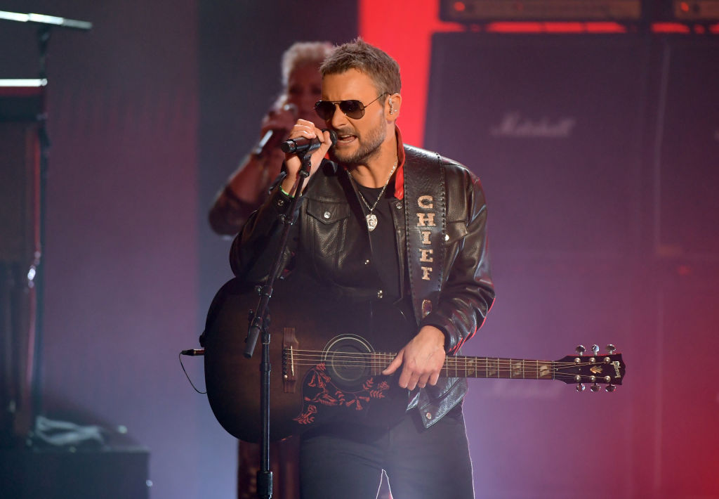 Eric Church Will Play Solo After His Band Contracts Covid-19