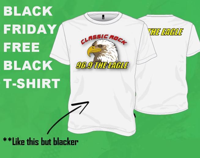Black Friday Free Black T-Shirt