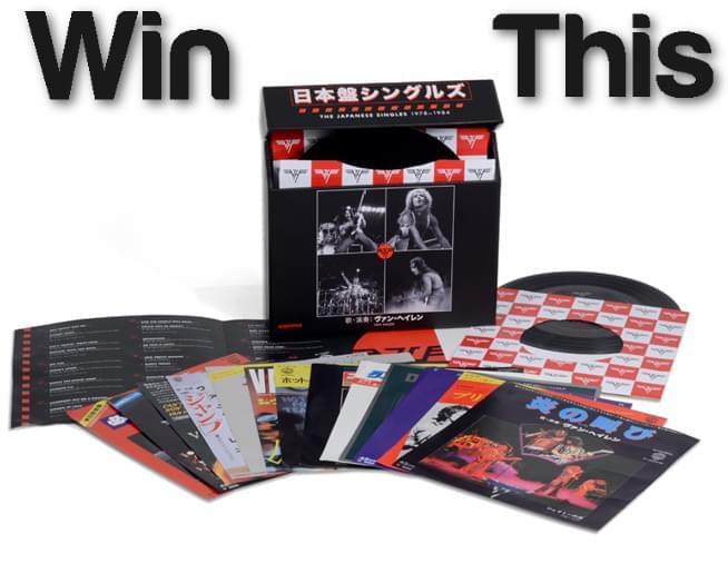 Win the new Van Halen Vinyl Boxed Set