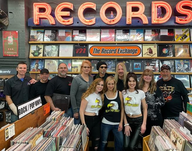 Record Shopping with Y&T