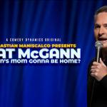 Comedian Pat McGann