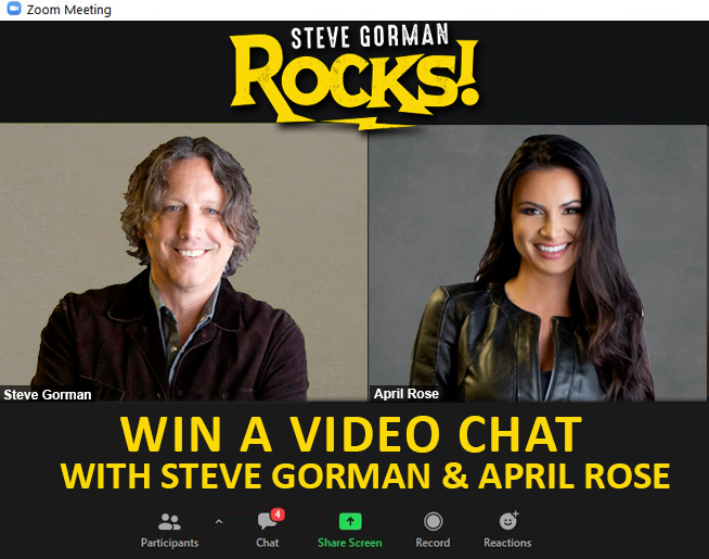 Win a video chat with Steve Gorman