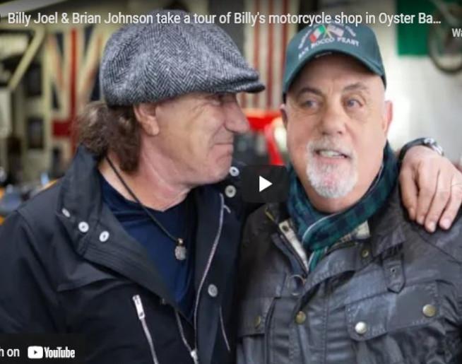 Billy Joel's motorcycle shop