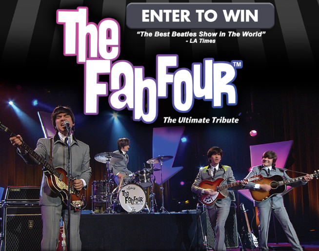 Fab Four – The Ultimate Tribute Oct. 2nd Boise