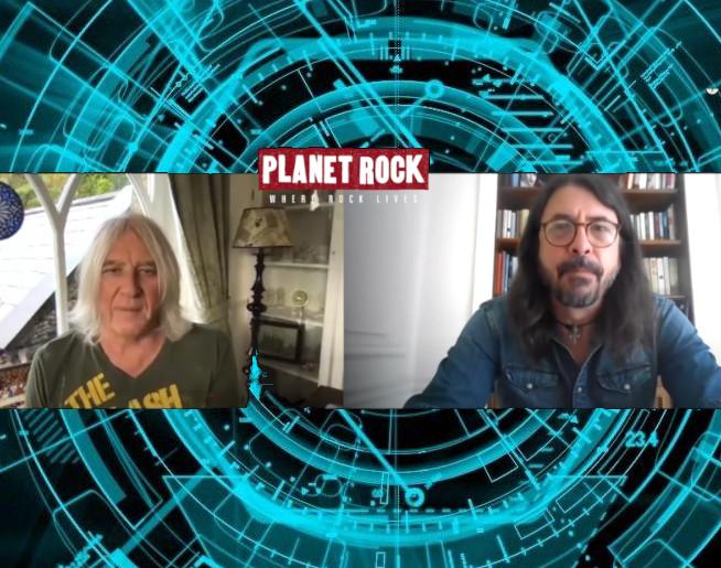 Joe Elliott & Dave Grohl