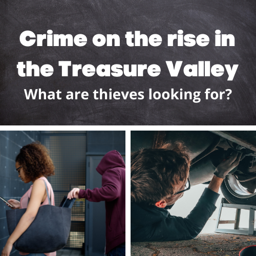 Wallet and Car Part Theft in the Treasure Valley