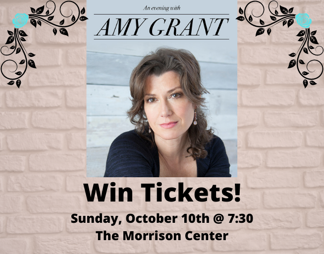 Win Tickets to Amy Grant!