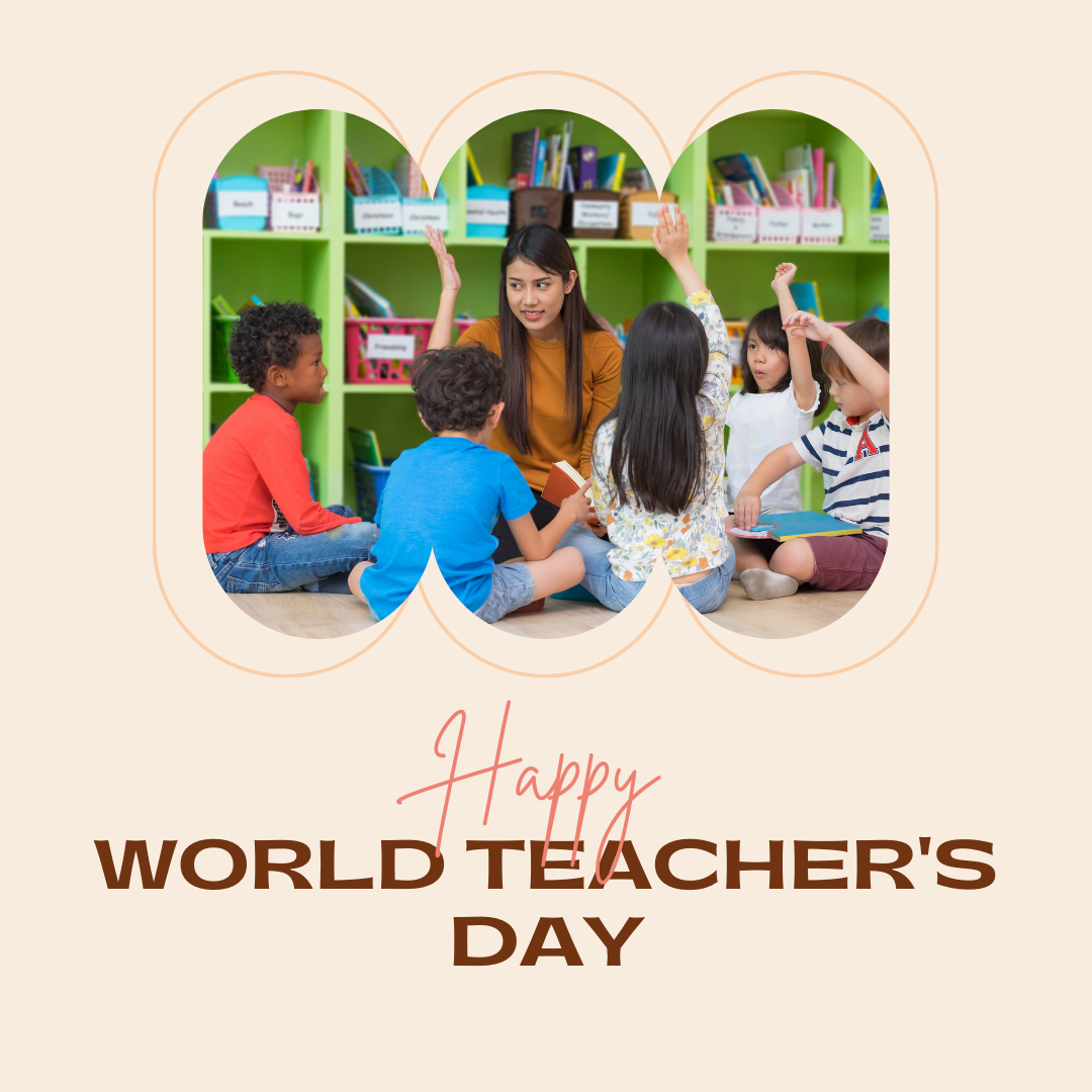 Happy World Teacher's Day!